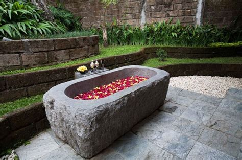 air stone bathtub 44 best images about bathtubs of bali on pinterest