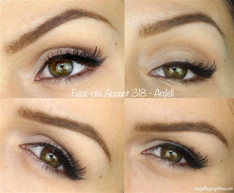Faux by Mes Faux Cils Pr 233 F 233 R 233 S Maquillage Cynthia