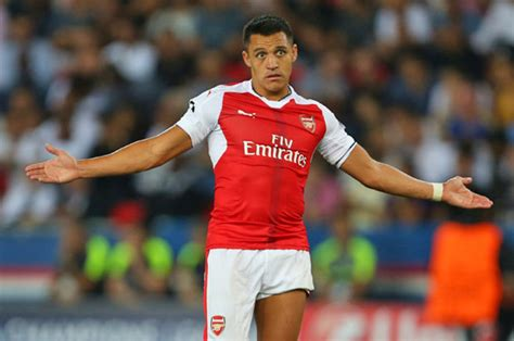 alexis sanchez contract news alexis sanchez arsenal star wants buy out clause and pay