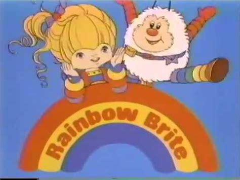 cartoon themes youtube rainbow brite 80 s cartoon opening intro theme song