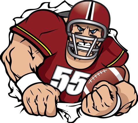 football player clip football player clipart 101 clip