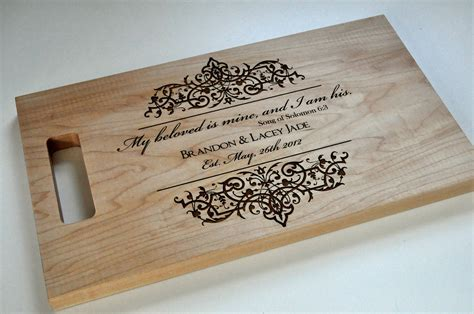 personalized plastic cutting boards
