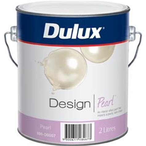 dulux design 2l satin sheen pearl interior paint