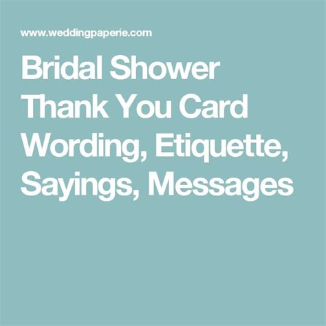 sle wording for bridal shower thank you cards 342 best images about our wedding 2017 on receptions wedding thank you cards and