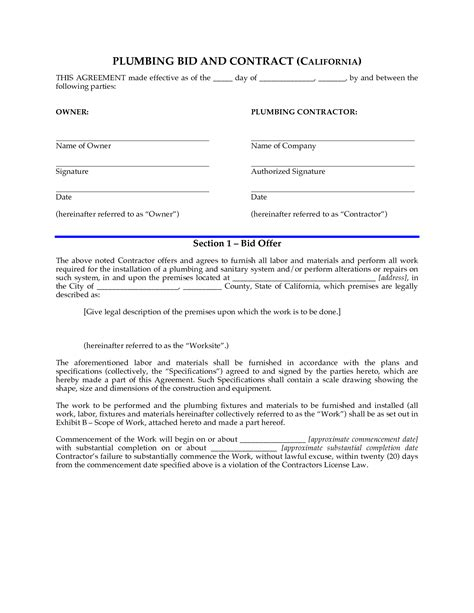 Plumbing Service Agreement Template by Best Photos Of Termination Letters For Staffing Firms