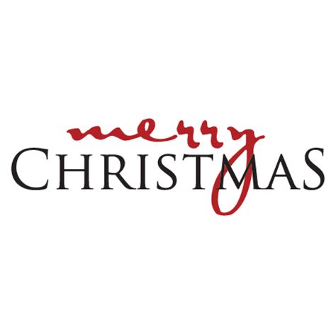merry christmas script  serif wall quotes decal wallquotescom