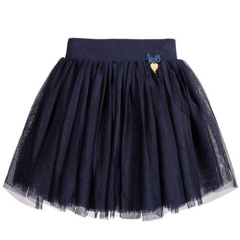 s navy blue tulle skirt childrensalon