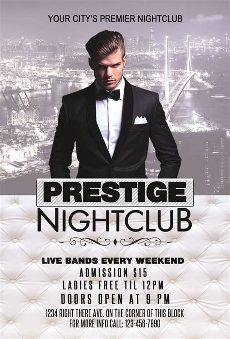 nightclub flyers templates prestige nightclub flyer template streetz myestro beats