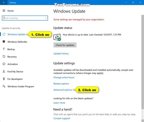 tutorial windows 10 update enable or disable driver updates in windows update in