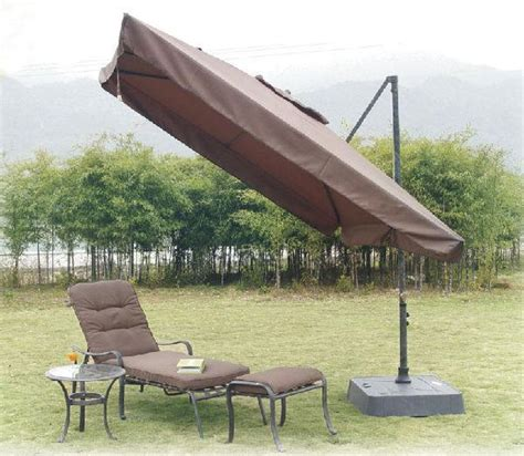 Southern Patio Offset Umbrella 8 5 Ft Southern Butterfly Offset Umbrellas And Canopies Southern Patio Par Pool Spa