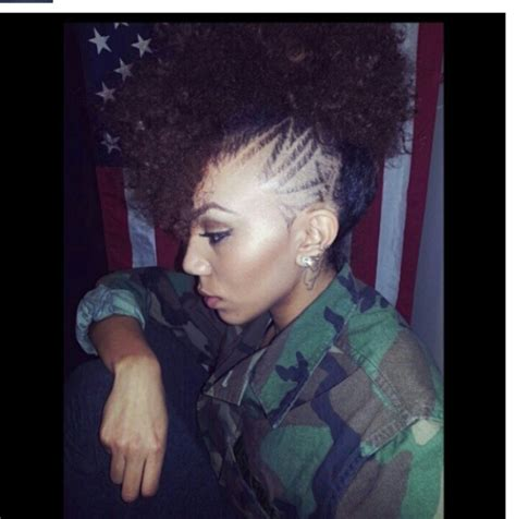 natural hair mohawk styles with the corners shaved mohawk natural hair undercut shaved head hair
