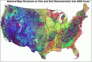 maps united states map elevation