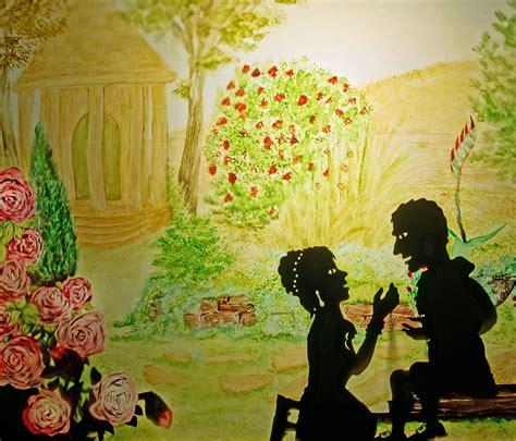 Marthens Garten by Mephisto Goethe Faust Prolog Im Himmel