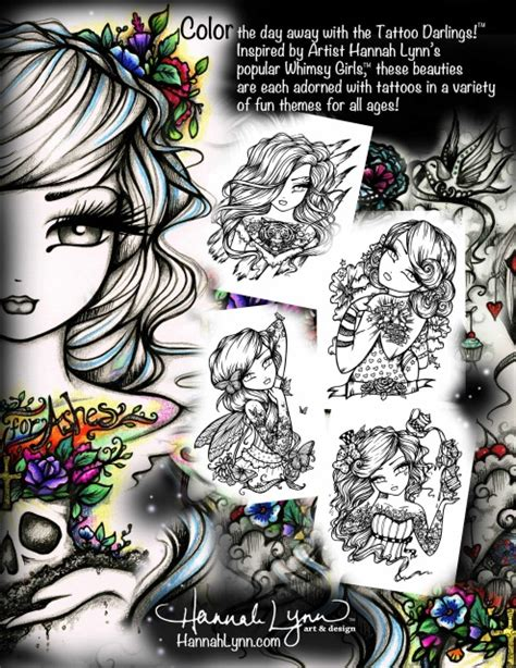 book tattoo nightrunner by lynn flewelling youtube pdf tattoo darlings an inky girls coloring book instant