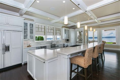 coastal kitchen design photos coastal living on fox island traditional kitchen