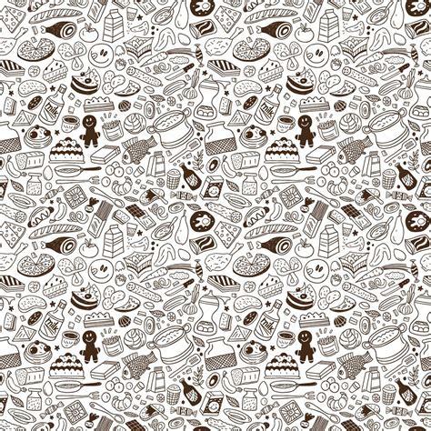 pattern illustrator food food seamless pattern stock vector 169 topform 24318989