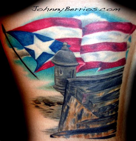 tattoos of puerto rican designs gudu ngiseng flag