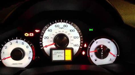 malfunction indicator l honda 2011 honda pilot malfunction indicator youtube