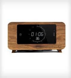 walnut alarm clock iphone dock inactive iphone c dock