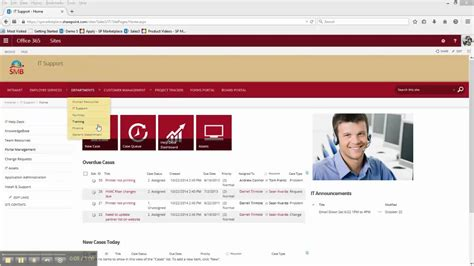 Office 365 Sharepoint Helpdesk Template it help desk and support application for sharepoint 2010