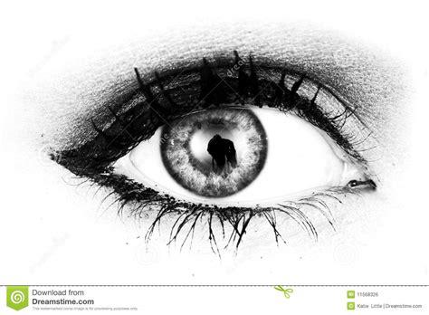 imagenes en blanco y negro de ojos ojo blanco y negro imagen de archivo libre de regal 237 as
