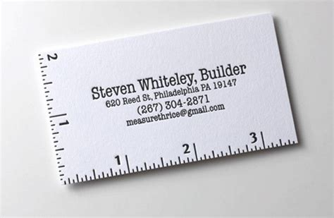 ruler business card template 40 architects business cards for delivering your message
