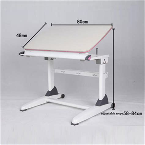 study table height height adjustable cranked study table for and