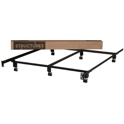 structures duty steelock metal bed frame
