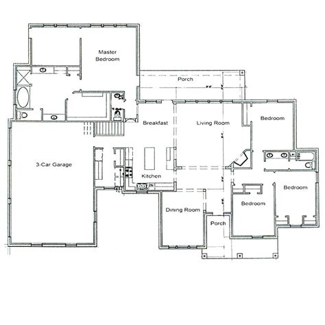 architectural floor plan architect house plans beach house plans coastal house