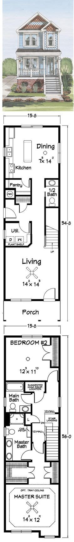narrow lot 2 story house plans 1000 images about the sims 3 house design on pinterest sims 3 the sims and sims