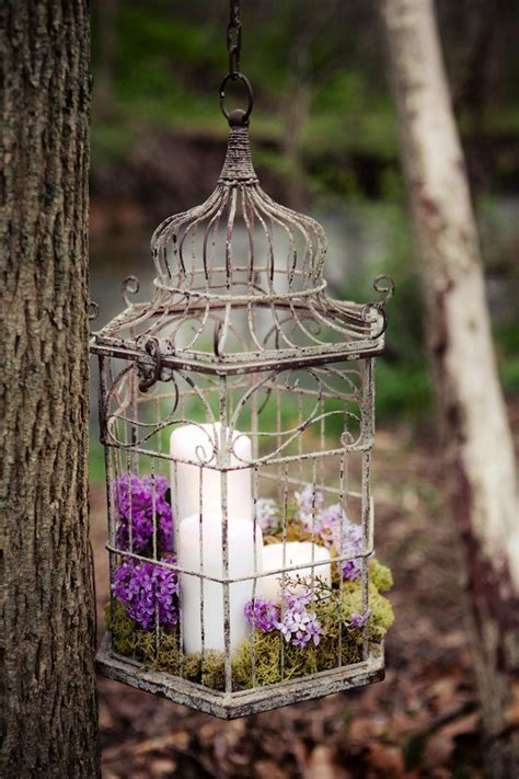 How To Decorate A Birdcage Home Decor | using bird cages for decor 46 beautiful ideas digsdigs
