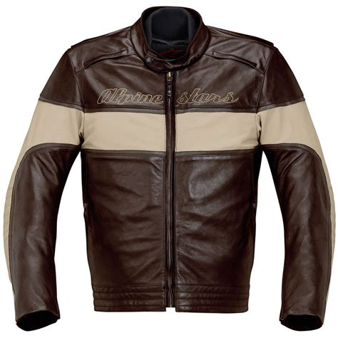 leather motorcycle gear drift leather jacket by alpinestars silodrome
