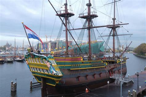 museum schip amsterdam 18th century cargo ship of the dutch east india company