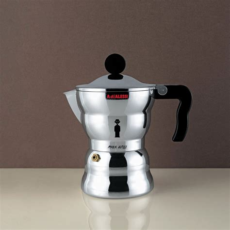 Teko Kopi Espresso Pot 6 Cup Alessi Moka Espresso Coffee Maker 6 Cups Aam33 6 By Alessandro Mendini Teddingtons Australia