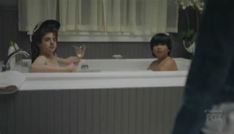 boy in bathtub fox comedy the mick features underage naked boys in tub waiting for threesome