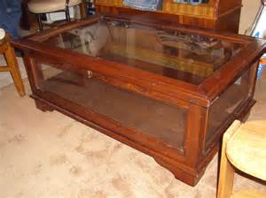 Display Cabinet Coffee Table Show Your Interests With Display Coffee Table