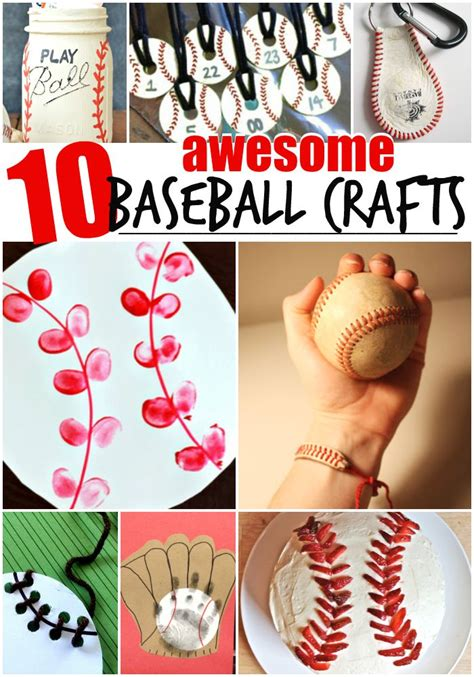 awesome crafts 10 awesome baseball crafts for the realistic