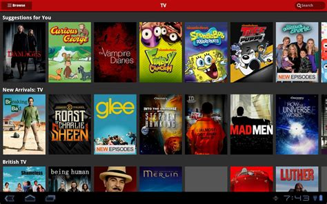 on netflix netflix app on android receives tablet ui overhaul ahead of version droid