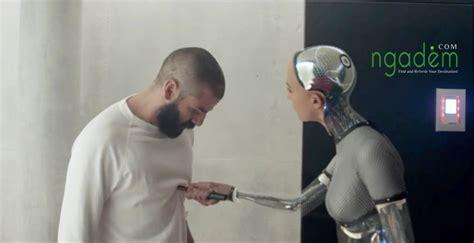 film robot yang menjadi manusia konsep filosofis dalam film ex machina 2015 ngadem com