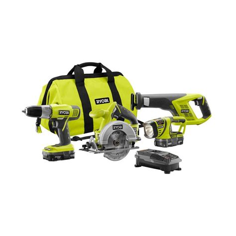 ryobi one p883 4 combo special buy at home