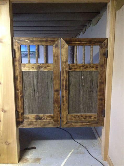 rustic  claimed barn wood saloon doors rustic doors