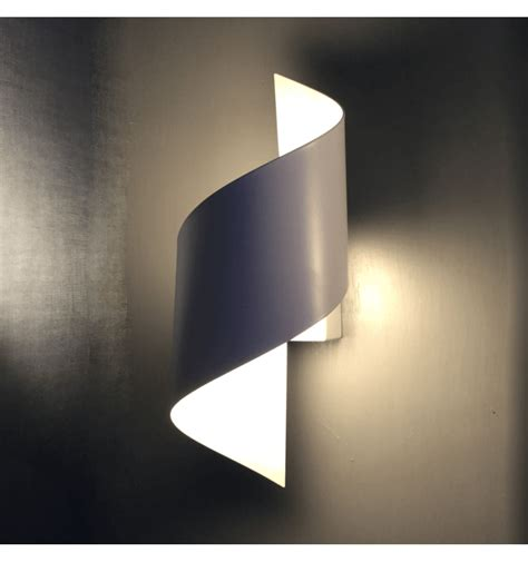 applique a led applique murale blanc designer led moderne typhoon