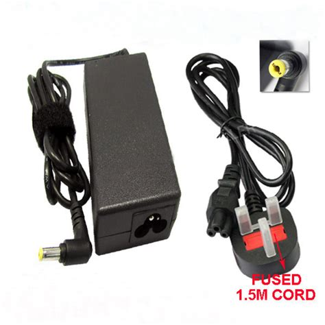 Adaptor Laptop Emachines acer emachines e732 ac adapter charger uk power cord for