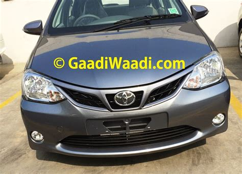 Grille Depan Chrome Toyota Etios Valco toyota etios liva facelift snapped inside and out