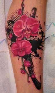 Tribal And Orchid Tattoo Designs Askideas » Ideas Home Design