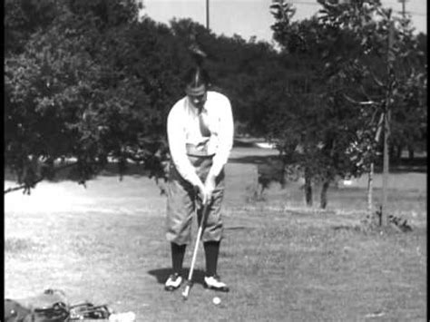 bobby jones golf swing bobby jones golf lesson youtube