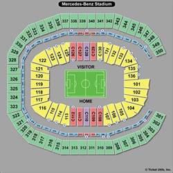 Mercedes Stadium Seating Chart Atlanta United Fc Tickets 2017 Schedule Ticketcity