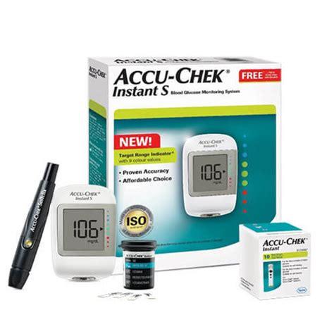 buy accu chek instant  glucose meter    test