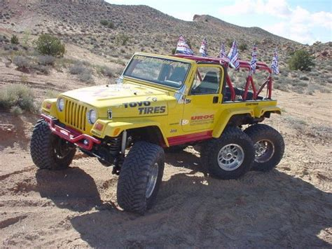 Anything Jeep Jeep Wrangler 6x6 By Tj Anything Every Thing With