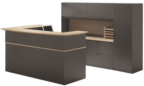 Custom Reception Desk Ovation Custom Reception Desk Workstation